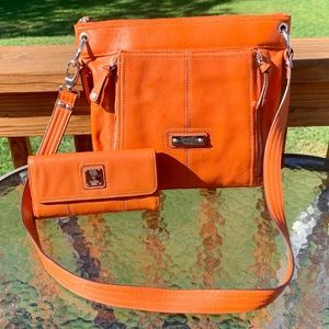 Tignanello Crossbody Bag & Wallet